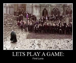 Find Luna Meme